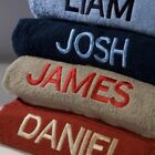NEW Personalised Embroidered 500gsm Face, Hand & Bath Towels - 15 Colours