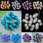 NEW Dichroic Glass Rice Beads 11x16MM Loose Beads 5PCS /10PCS  BW036