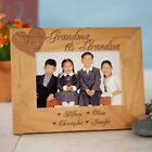 Personalized We Love Grandma & Grandpa or any Title Dad Mom Engraved Photo Frame