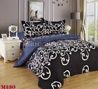 M130 Queen/King Size Bed Quilt/Doona/Duvet Cover Pillowcases Set New