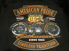 AMERICAN PRIDE SINCE 1903 VINTAGE MOTORCYCLE BIKER LONG SLEEVE SHIRT M TO 4X