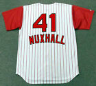 JOE NUXHALL Cincinnati Reds 1960's Majestic Throwback Home Baseball Jersey