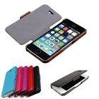 k-co Luxury Genuine Leather Case Flip Skin Cover For Apple iPhone 5s iPhone 5