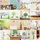 DIY Cartoon Removable Vinyl Decal Wall Sticker Art Mural Nursery Kids Room Decor