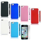 Colorful Hybrid Heavy Duty Rugged Hard Case Cover For iPhone 5C C+ Stylus+Film