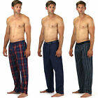 Mens pyjamas Lounge wear bottoms pants trousers  designer pj Cotton OR FLEECE