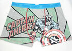 bnwt Marvel Comic character mens novelty Captain America boxers size L
