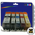 1 Set of Compatible Printer Ink Cartridges for Canon PGI-525 / CLI-526 Range