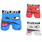 """Xplicit Men's""""Winky""""Funny Novelty Boxer Shorts Stag Do Boxers"""