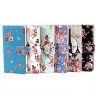 PU Leather Retro Floral Wallet Stand Flip Case Cover For Samsung Galaxy S5 i9600
