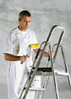 Dickies Bib and Brace White WD650 Painter Overalls S M L XL