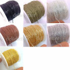 50 Yards Flat Cable Chain Welded Oval Link Copper Brass Based 4 Size You Pick