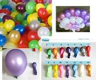 """3 pcs Colorful 10"""" latex round party balloons decorations birthday events P004"""