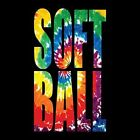 TIE DYE SOFTBALL T-SHIRT (UNISEX FIT) SPORTS