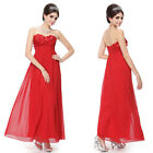 2014 New Red Plus Size Prom Party Evening Bridesmaid Gown Halloween Dress 09986