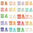 HOT 20/40/60/100Pcs Organza Fashion Gift Bags Wedding Jewelry Pouch Wholesale