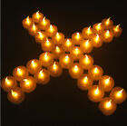 New flameless flickering led tea light candles battery operated tealights party