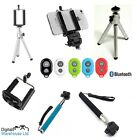 4 in 1 Selfie Stick & Bluetooth Remote Monopod Kit for Sony Xperia UK SELLER*