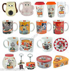 Wallace & Gromit Gift Gifts Keyring Mug Coaster Stein Cake Tin Tea Coffee