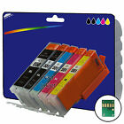 1 Set of Compatible Printer Ink Cartridges for the Canon 550-551 Range