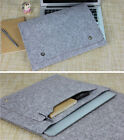 "Felt 11.6""13.3""15.4"" Laptop Sleeve Cover Pouch PC Case Bag For Macbook Pro Air"