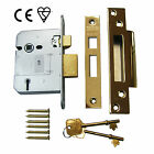 5 Lever BS Mortice Door Sash Lock - ERA Fortress Replacement - CE Marked - Zoo