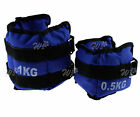 Pair of Fitness Gym Wrist Ankle Weights Exercise Training Velcro straps 1kg/2kg