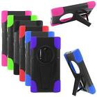 Hybrid Phone Case For Nokia Lumia 1020 Silicone Corner Hard Cover Stand
