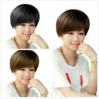 Fashion Women Lovely Short Straight BOB Hair Wigs Cosplay Halloween Party Wig
