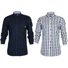 NEW MENS JACK & JONES RATON CHECKED LONG SLEEVE COLLARED SHIRT TOP SIZE S-XXL