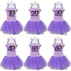 Girls Sofia the First Princess Number Birthday Lavender Light Purple Party Dress