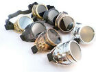 Cool Hot Cyber Goggles Steam Punk Weld Goth Cosplay Vintage Goggles Rustic JRUS