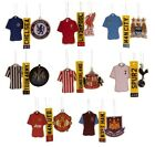 OFFICIAL FOOTBALL CLUB - AIR FRESHENERS (3 Pack) - Shirt + Crest + Number Plate