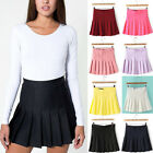 2014 Trends Womens Slim Thin High Waist Pleated Tennis Skirts Mini Dress Playful