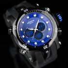 INFANTRY MENS SPORT ARMY LUXURY DIGITAL QUARTZ WRIST WATCH BLACK WATERPROOF GIFT