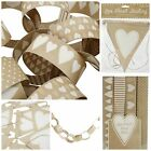Set 4 Love Heart Paper Chains / Garlands or Bunting. Wedding / Home Accessories
