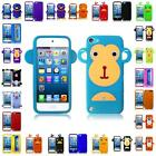 For Apple Ipod Touch 5 5G Silicone Skin Cover Case + FREE LCD Screen Guard