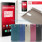 Ultra-Thin Abrasion Proof Hard Back Case+Screen Film for OnePlus One 1+ A0001