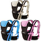 Infant Baby Carrier Newborn Sling Wrap Rider Toddler Comfort Backpack 4-Way New