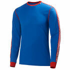 Helly Hansen Dry Crew Stripe Mens Base Layer Blue Layers Top All Sizes