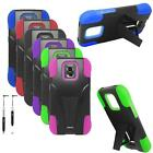 Hybrid Case For Samsung Galaxy S5 Sport Silicone Corner Cover Stand / Re-Stylus