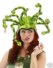 Medusa Hat Shiny Green Lame Snakes Elope Headpiece Snake Headpiece 290290