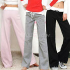 Women Lady Comfy Casual Jogger Long Sports Yoga Pants Slacks Sportwear Tracksuit