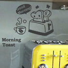Kitchen Coffee Shop Sign Toast  Wall Quote Art Stickers Wall Decals