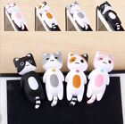 AEC27 Sleeping Cat 3.5mm Earphone Ear Cap Anti Dust Plug Cover For Cell Phone