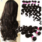 "1-3Bundle 6A Malaysian Human Hair Extension 16""-20""Body Wave 100g/Bundle Hair US"
