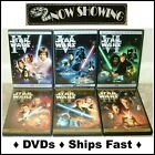 Star Wars: The Complete Saga 9-Dvd Set, Episodes I,II,III,IV,V,VI