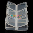 Home Use Empty Pill Medicine Drug Storage Case Box 6 Cells KZUK