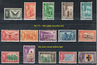 SARAWAK 1950 Definitives mounted Mint or Used. Choice of stamps. FREE UK POST