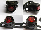 Bike Bicycle Red/BlueLED Rear Light 3-mode Waterproof Tail Lamp Warning Mini  JB